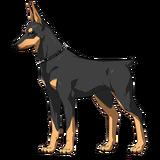 Carmilla Rider Dog Sprite1
