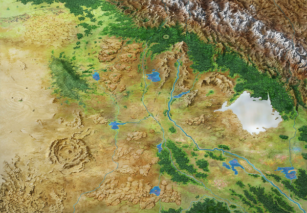 Yuga Kshetra map