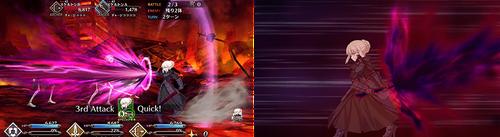 Artoria Alter Animation Update
