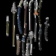 Benkei weapons