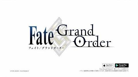 Fate Grand Order 配信3周年記念 TVCM