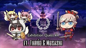 FGO NA GilFest 2020 - Exhibition Quest 4 - Welcome to the Jaguar Country ft. Thrúd & Musashi