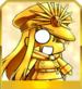 Gold Chibi Nobu Icon