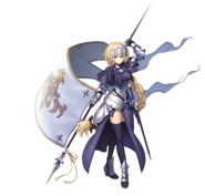 Ruler Jeanne d'Arc render - extra02 (fate-go web)