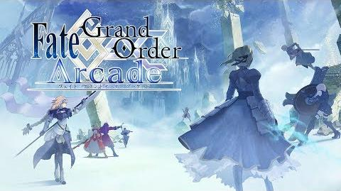 『Fate Ground Order Arcade』PV