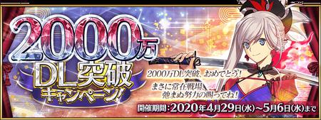 20M DL Banner