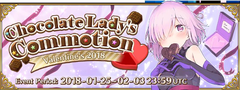 Valentine 2018 Event (US) | Fate/Grand Order Wikia | FANDOM