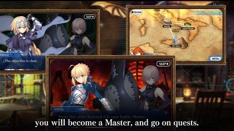 Fate Grand Order Long Trailer