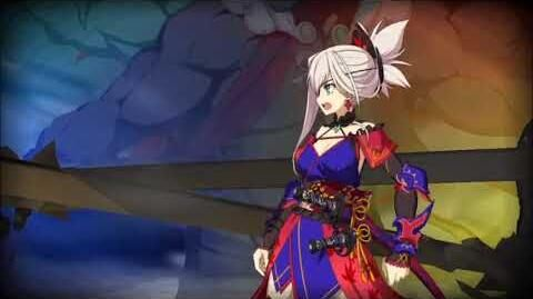 Fate Grand Order - Miyamoto Musashi Quintessence Enlightenment NP Animation