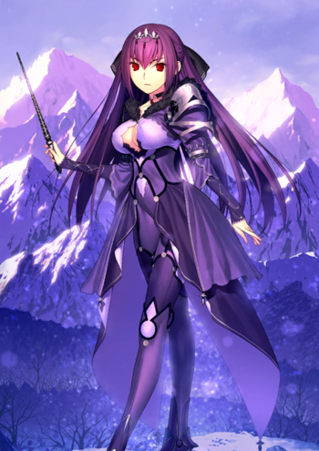 scathach skadi