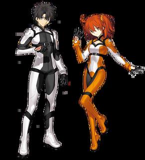 Chaldea Combat Suit Chara