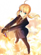 Artoria pendragon and saber fate zero and fate series drawn by takeuchi takashi c1c25f1d29a848997855d000a14aff56
