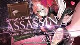 Fate Grand Order Cosmos in the Lostbelt Servant Class Assassin