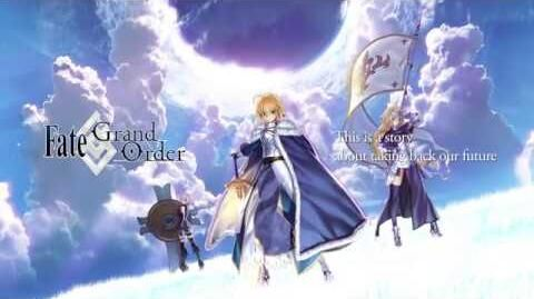 Fate Grand Order Announcement Trailer