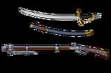 ChristopherColumbus Gun Sword
