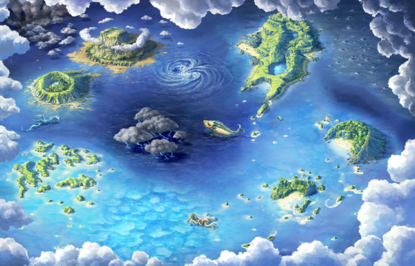 Okeanos map