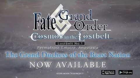 Fate Grand Order Cosmos in the Lostbelt Anastasia PV