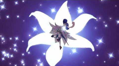 Fate Grand Order Saber(Chevalier d'Eon) Renewal Noble Phantasm Fleur de Lys softsub