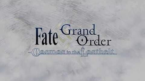 Fate Grand Order - Cosmos in the Lostbelt Trailer