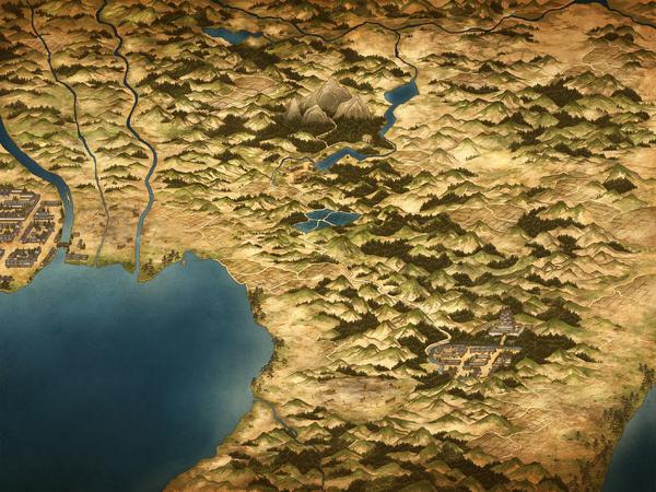 Shimosa map