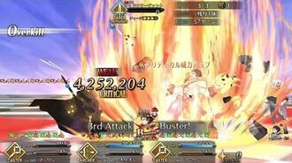FGO-JP Orion and the 4,252,204 buster crit.