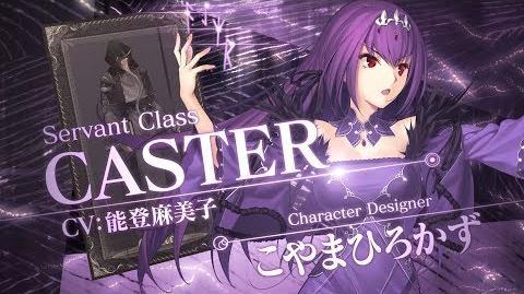 Fate Grand Order 4週連続・全8種クラス別TV-CM 第6弾 キャスター編