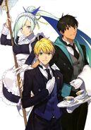 Arthur, Arash, Brynhildr