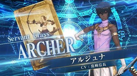 『Fate Grand Order Arcade』サーヴァント紹介動画 アルジュナ