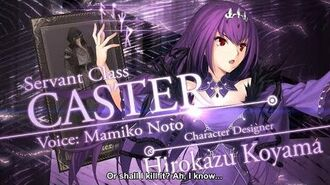 Fate Grand Order Cosmos in the Lostbelt Servant Class Caster