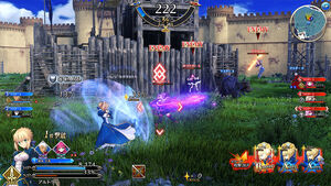 Online team battle mode