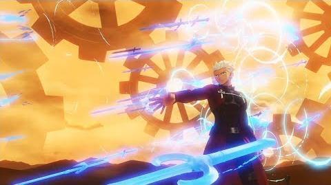 『Fate Grand Order Arcade』エミヤ 無限の剣製