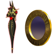 Anubis and mirror