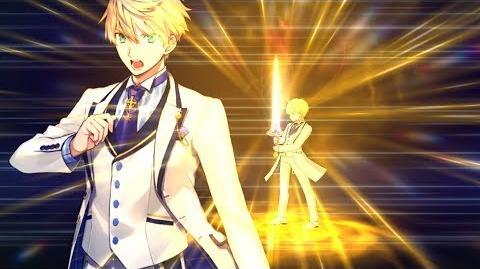 アーサー・ペンドラゴン〔プロトタイプ〕 ホワイトローズ(霊衣) 約束された勝利の剣