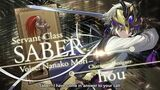 Fate Grand Order Cosmos in the Lostbelt Servant Class Saber