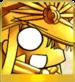 Gold Deka Nobu Icon