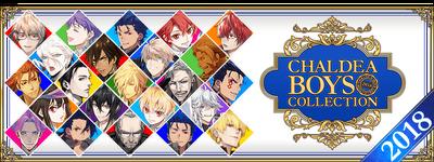 Chaldea Boys Collection 2018 Banner