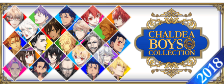 Chaldea Boys Collection 2018 Banner