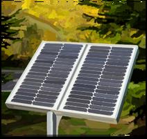 Yellow energy solar
