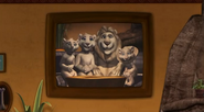 Father of the Pride Family Portrait