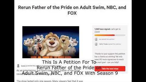 Father of the Pride and Imagi Animation Studios Petition Promo