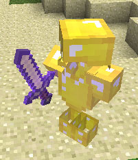 Gilded-Armor-Golem-Built