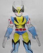 Kenji's Wolverine Costume