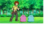 Green fronk in pokemon