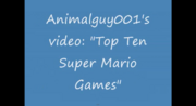 OldTopTenSuperMarioGames