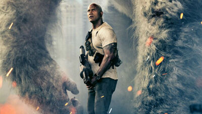 "Find Out What Made Dwayne Johnson ""Pissed"" on the Set of 'Rampage'"