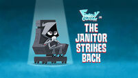 The Janitor Strikes Back title card