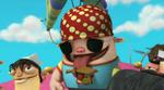Chris chuggy as a pirate
