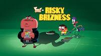 Risky Brizness title card