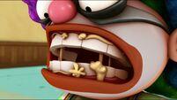 Goofy Glue on Chum Chum's teeth s2e18a