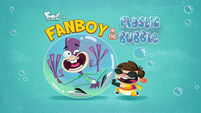 Fanboy in the Plastic Bubble title card